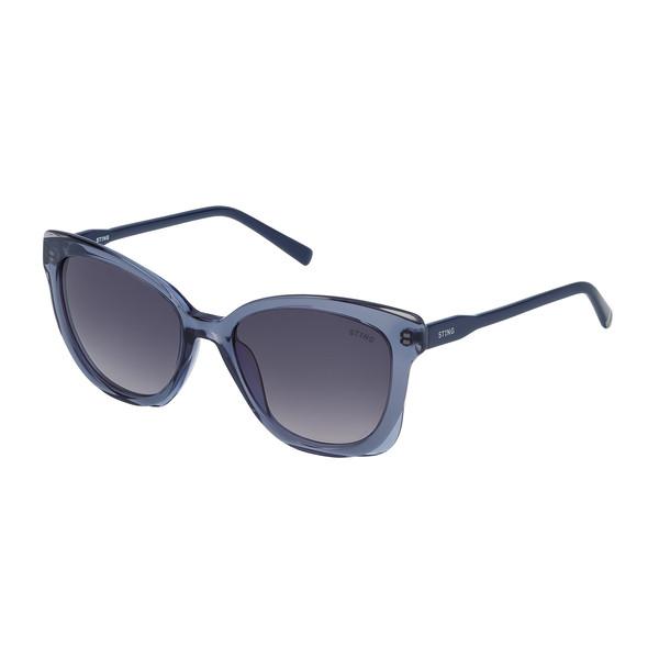 Gafas de sol mujer - gris brillo/azul