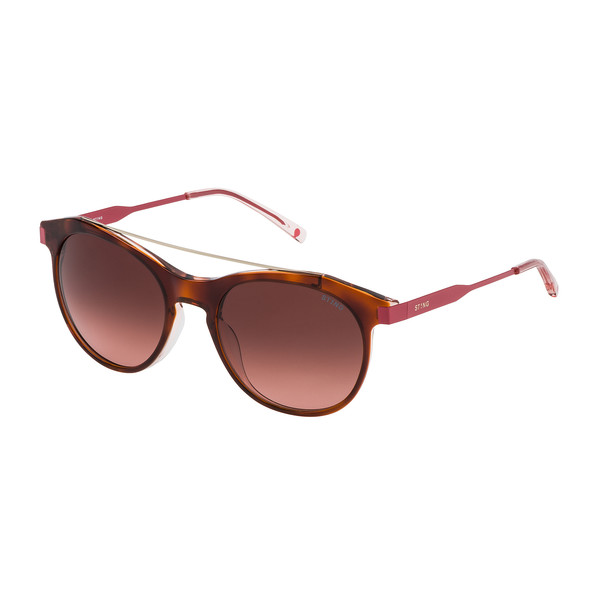 Gafas de sol mujer - havana brillo/rosa