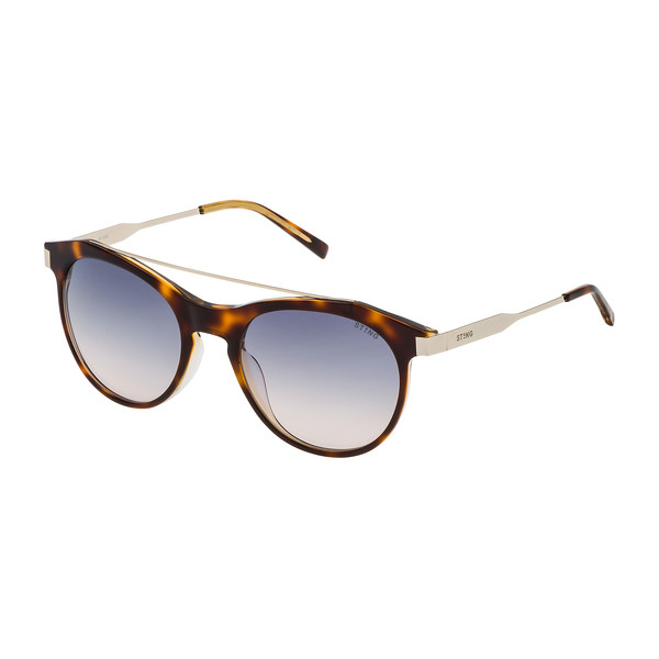 Gafas de sol mujer - havana brillo/amarillo