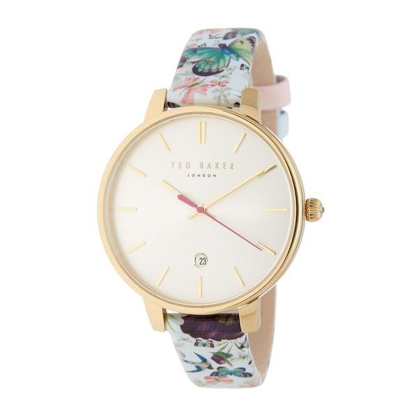 Reloj analógico mujer piel - multicolor