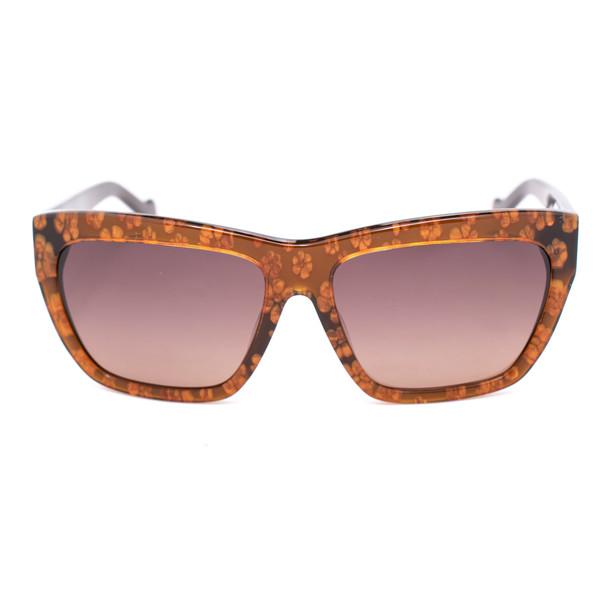 Gafas de sol mujer - marrón flores