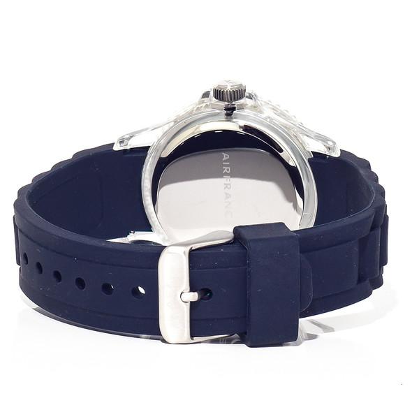 Reloj analógico unisex caucho - azul