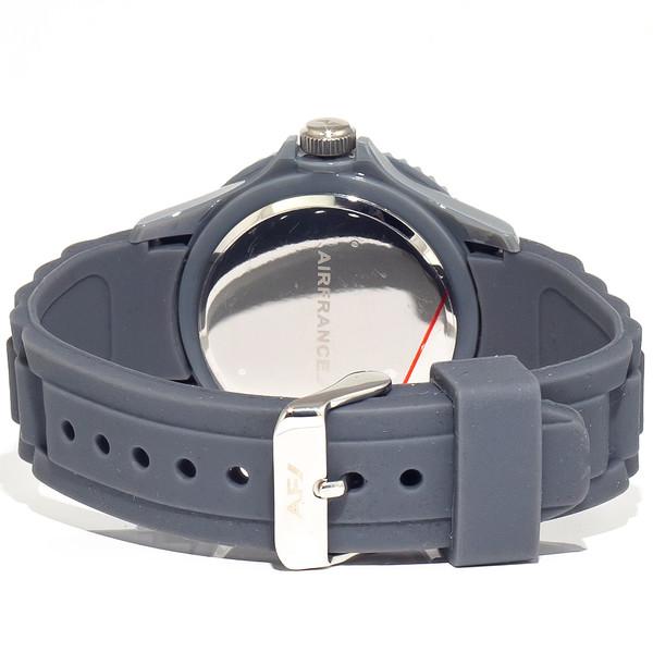 Reloj analógico unisex caucho - gris