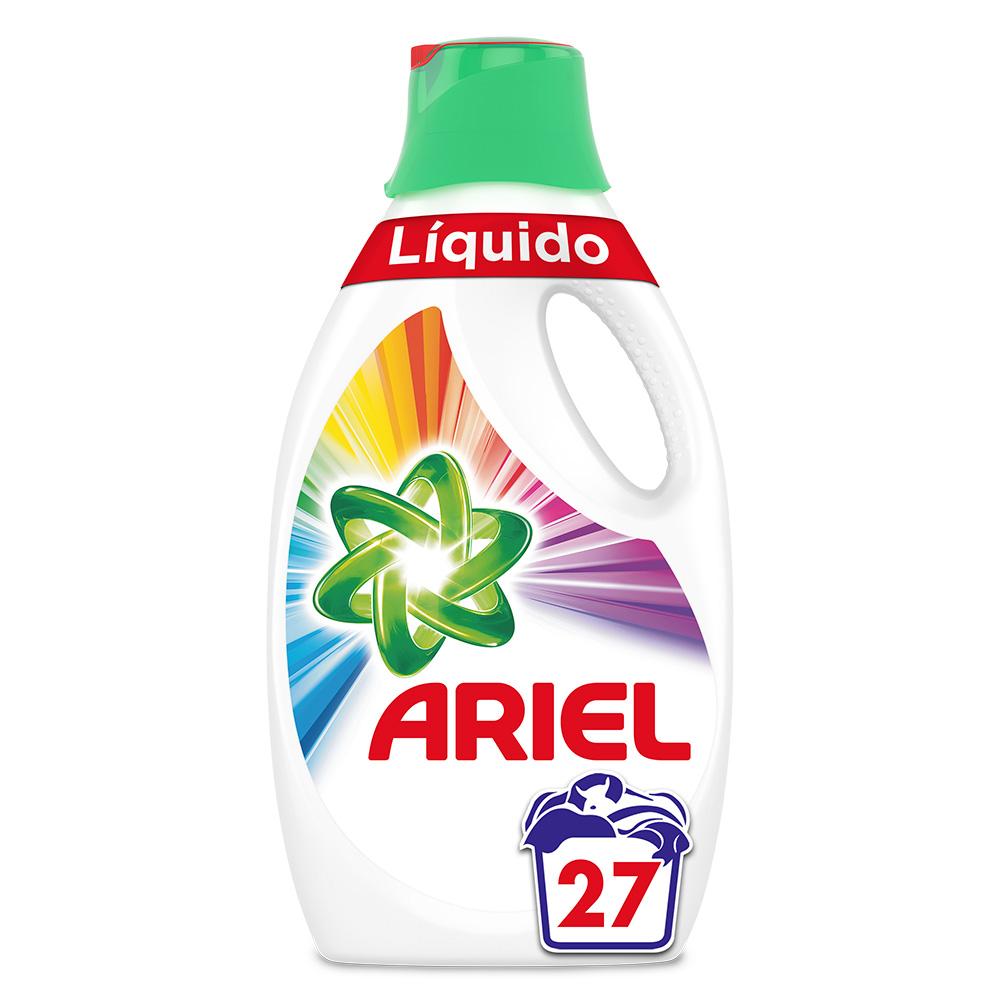 PACK 4 Detergente líquido Ariel color 27 lavados
