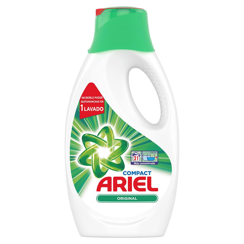 PACK 4 Detergente líquido Ariel regular 21 lavados