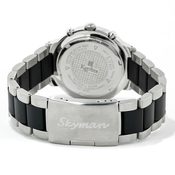 Reloj analógico hombre policarbonato - negro