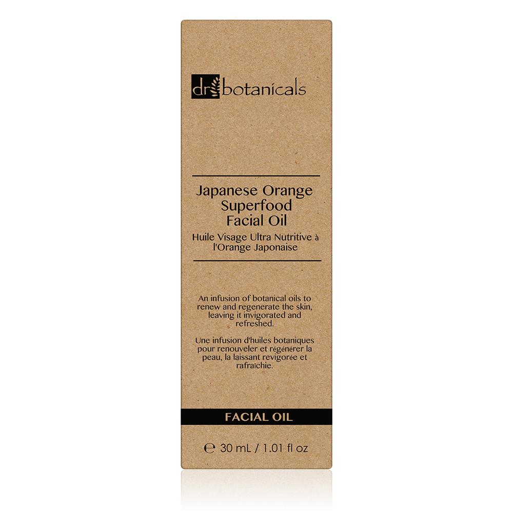 Aceite facial regenerador - naranja