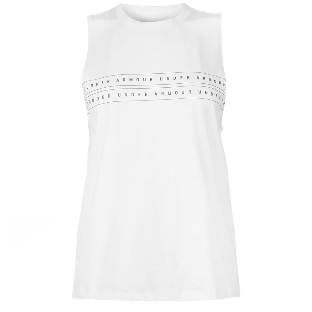Camiseta s/mangas mujer - blanco