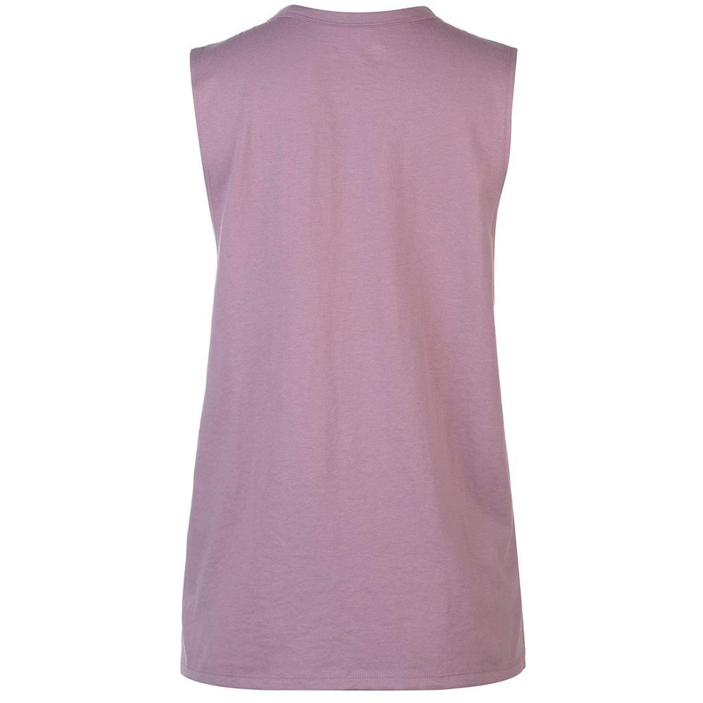 Camiseta s/mangas mujer - violeta