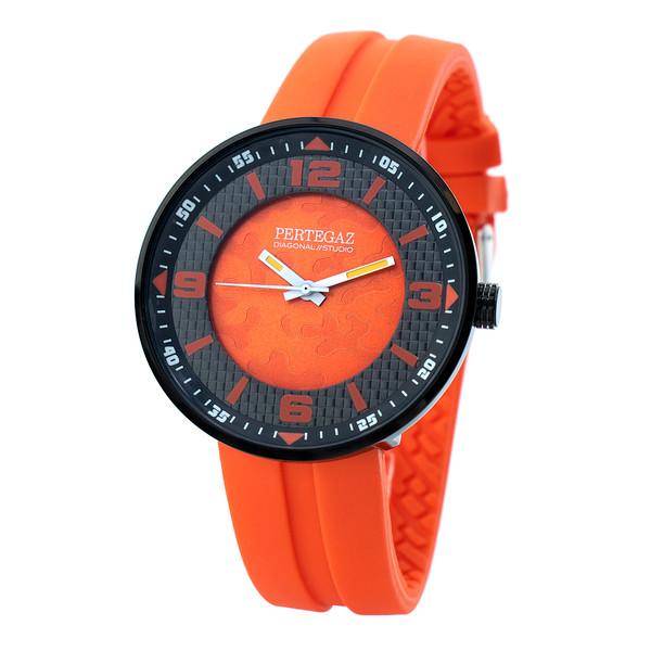 Reloj analógico mujer - naranja
