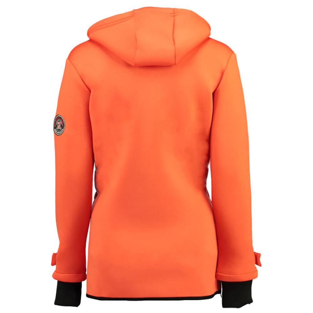 Chaqueta softshell mujer - naranja