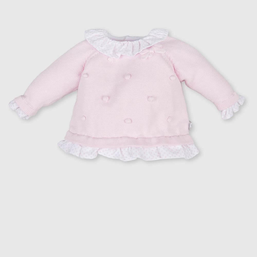 Jersey bebé niña - rosa
