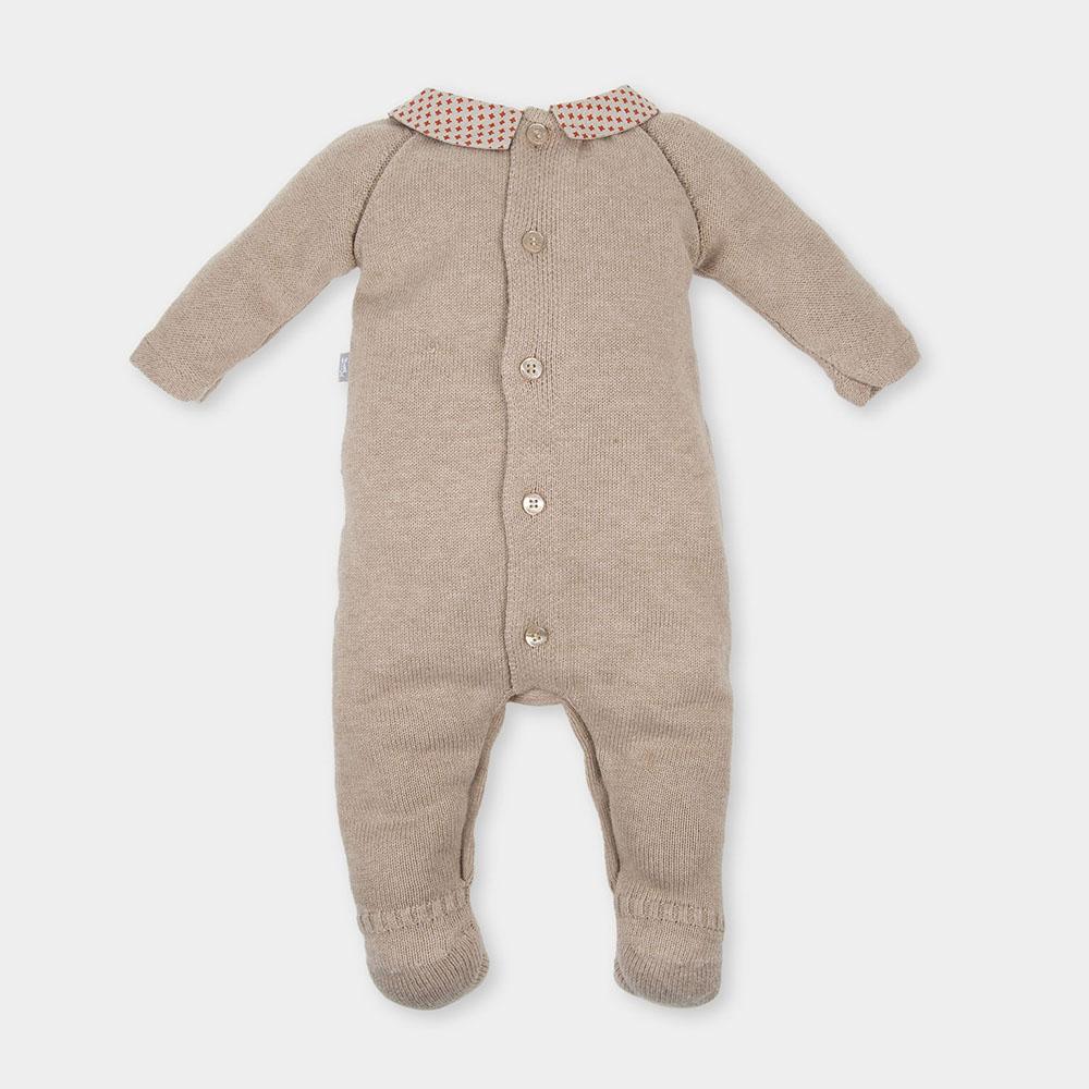 Pelele bebé niña - piedra