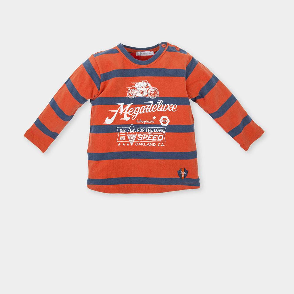 Camiseta niño - naranja