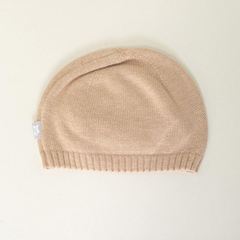 Gorro tricot niña - piedra