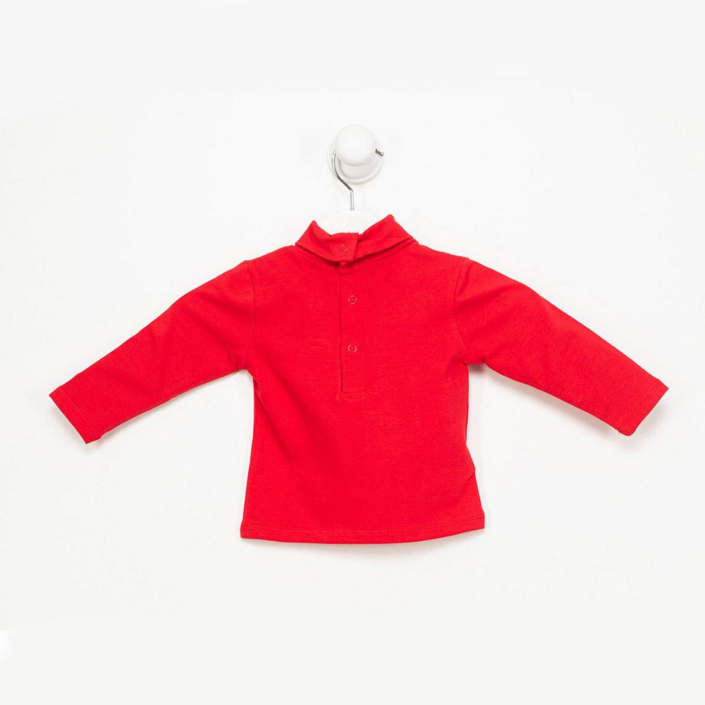 Camiseta m/larga niña - rojo