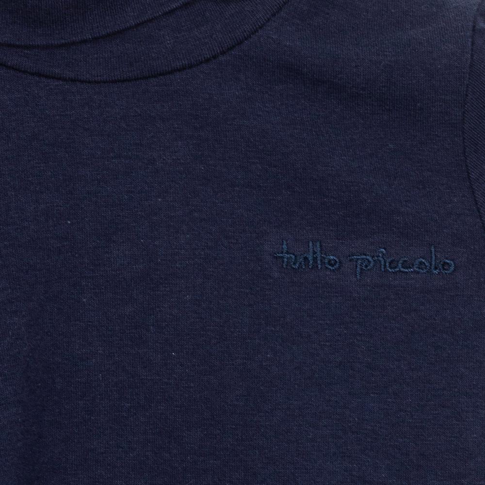 Camiseta m/larga niña - azul marino