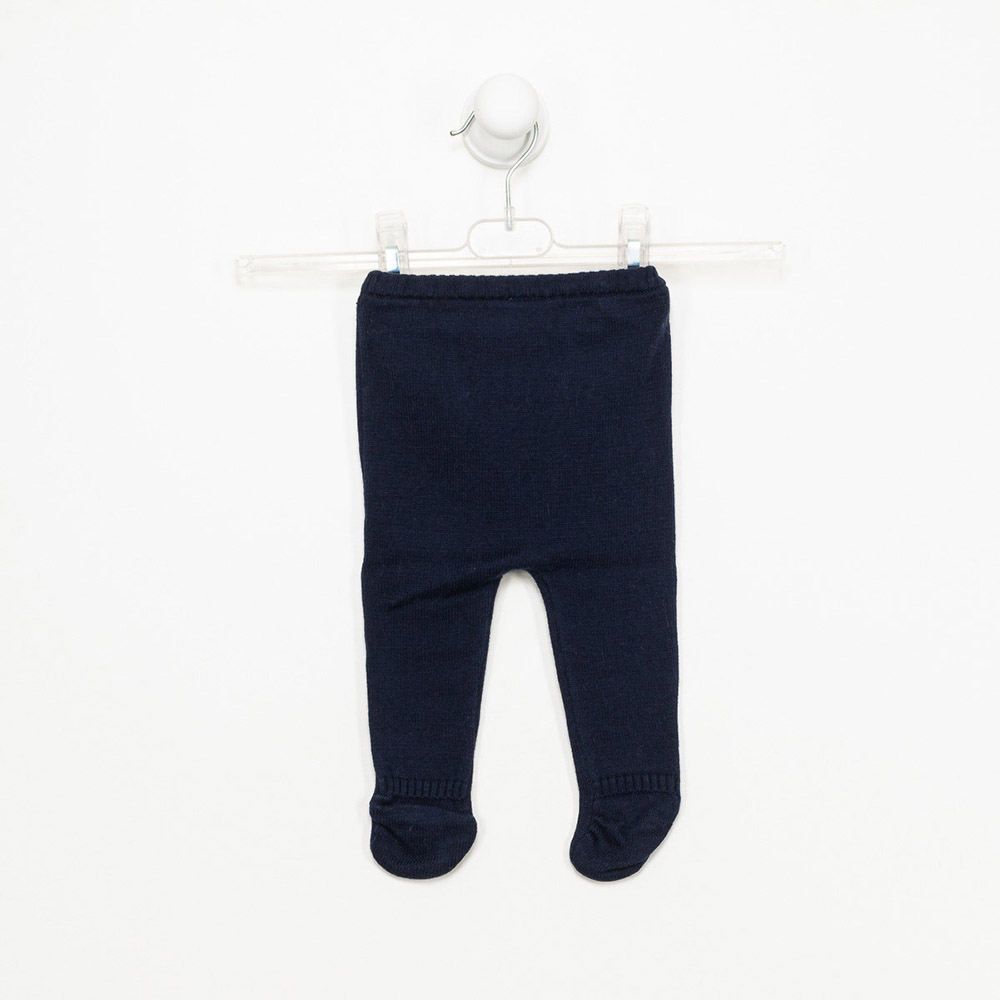 Polaina bebé niño - azul marino