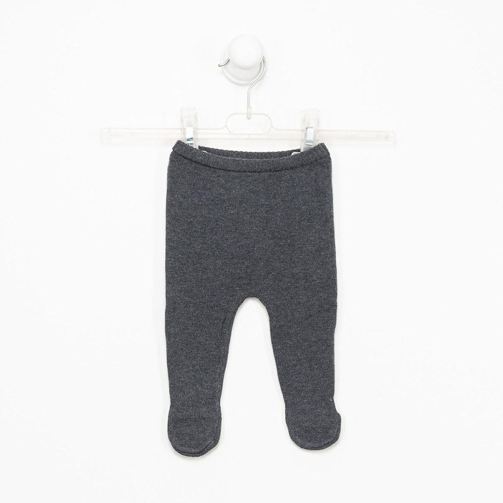 Polaina bebé niño - gris
