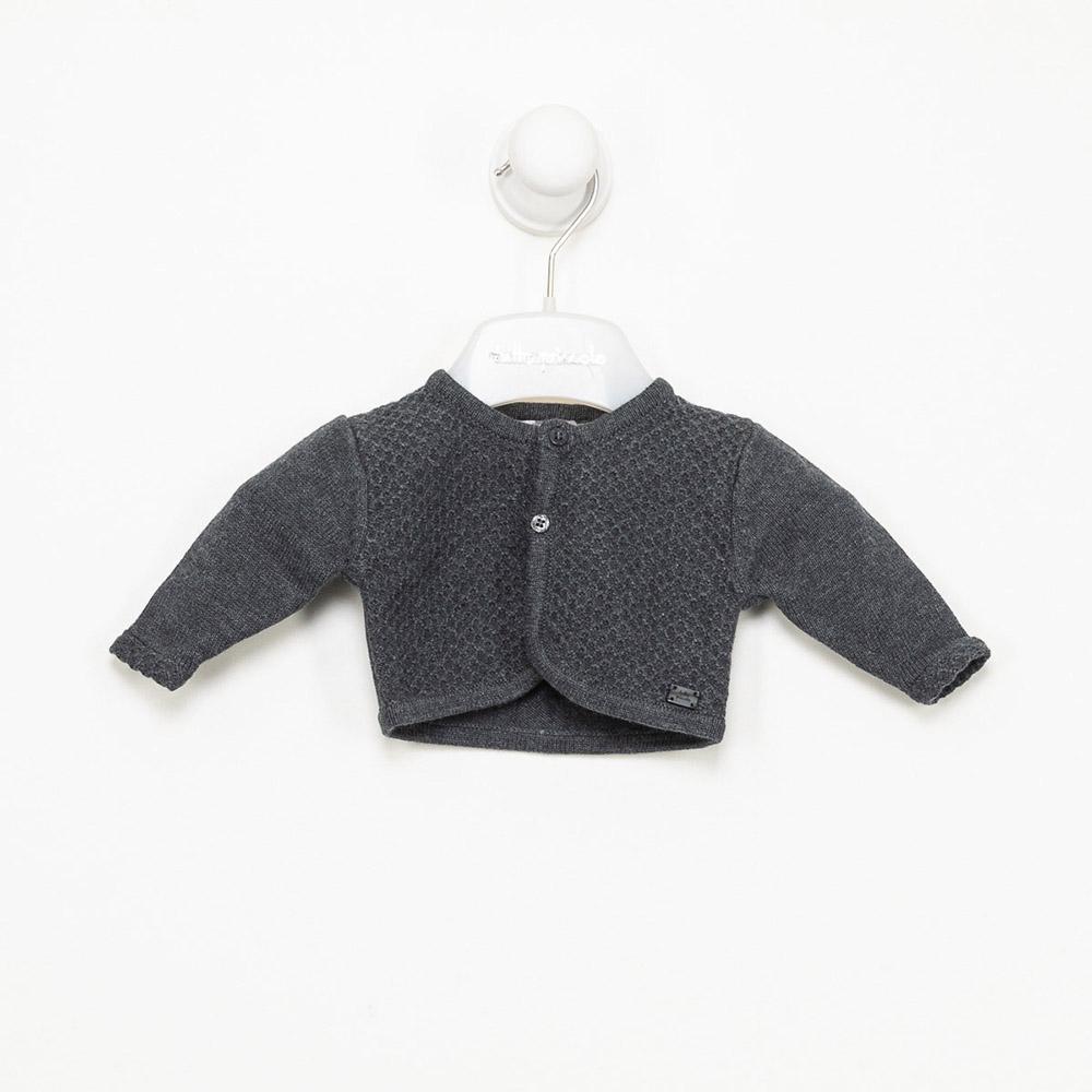 Chaqueta m/larga bebé niña - gris