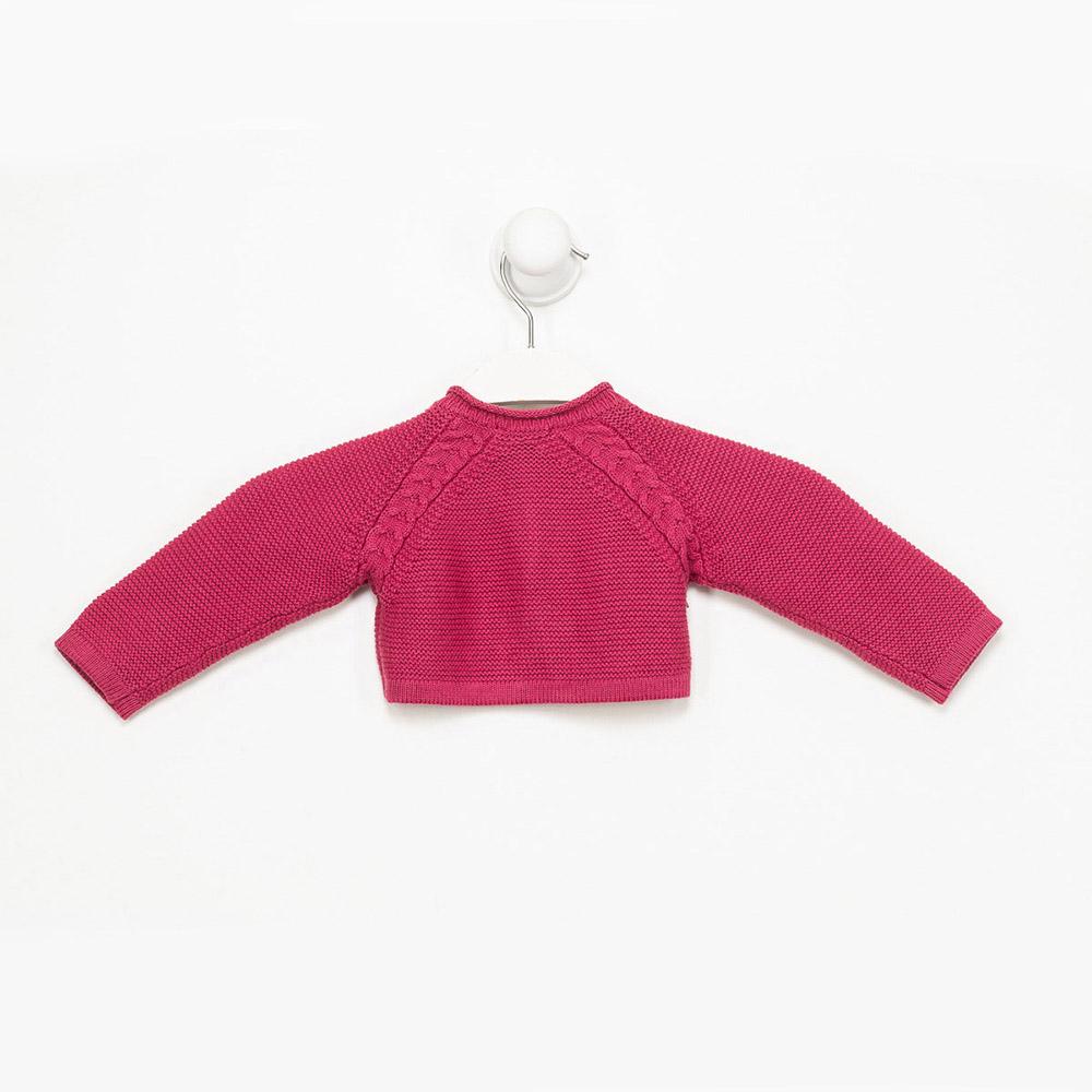 Chaqueta m/larga niña - rosa carmín