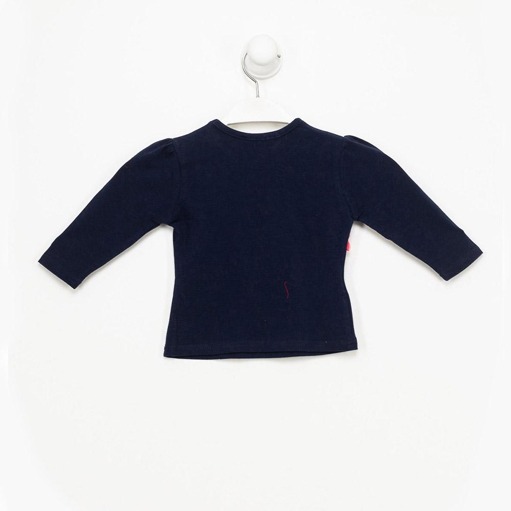 Camiseta bebé niña - marino