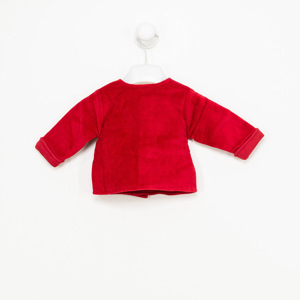 Chaqueta m/larga bebé niña - rojo