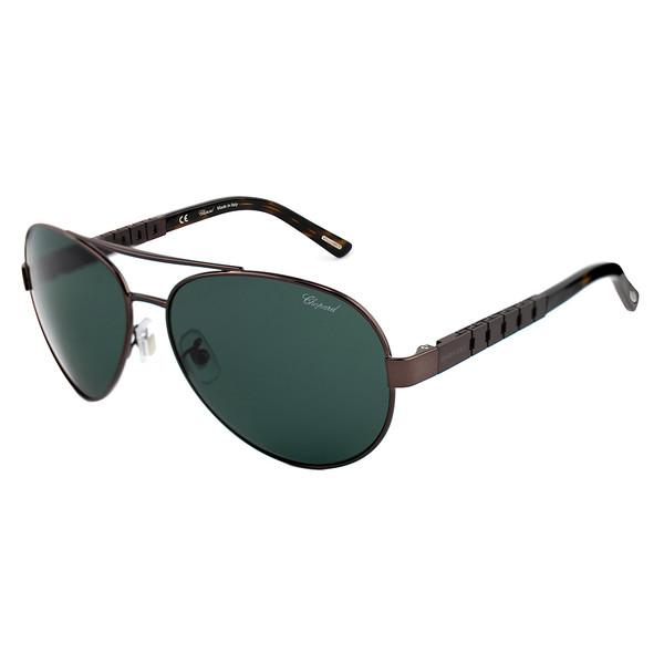 Gafas de sol hombre metal - marrón