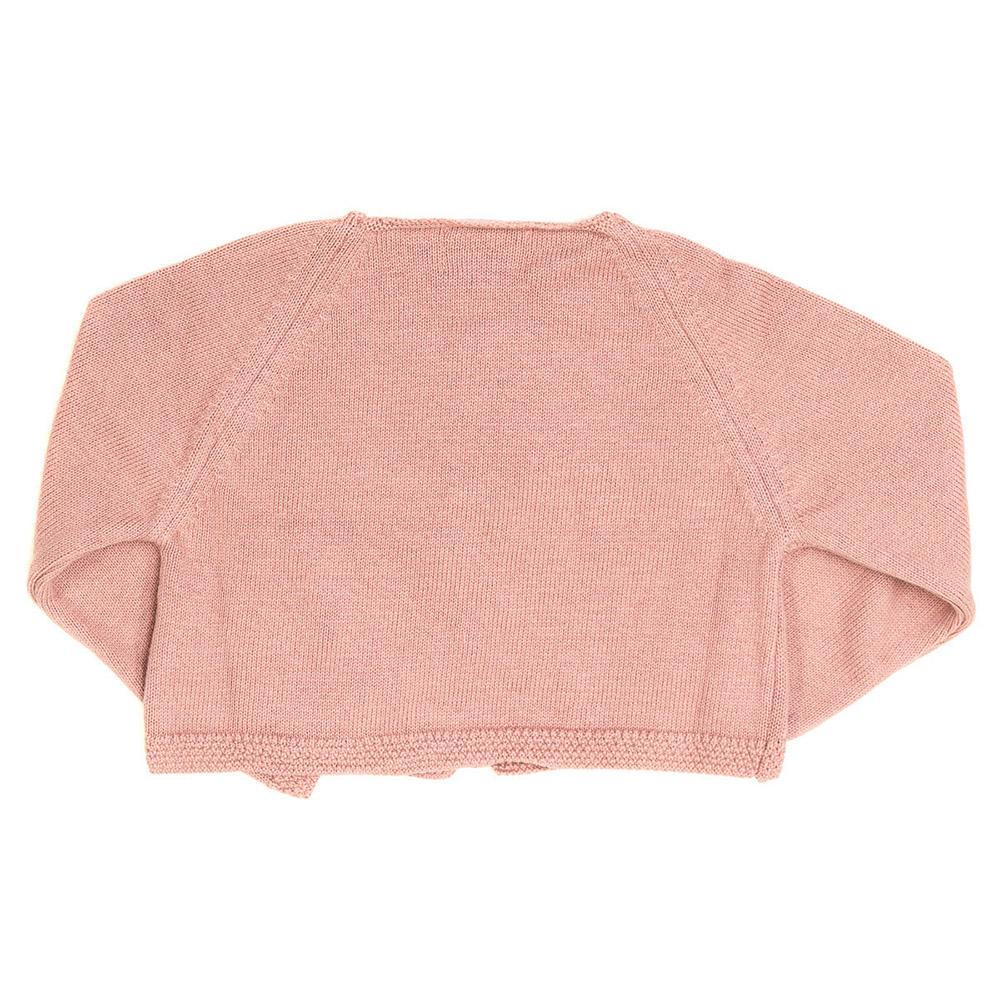 Bolero m/larga bebé - rosa