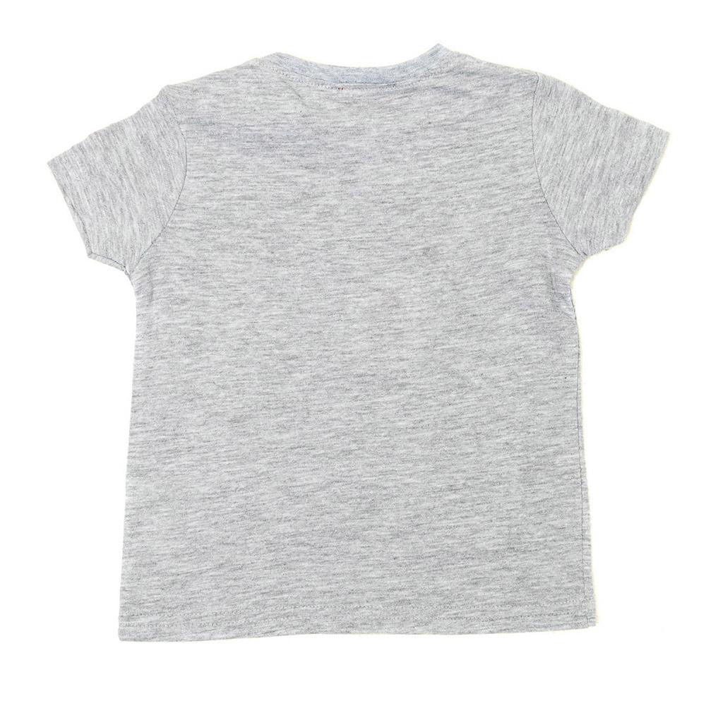 Camiseta m/corta bebé - gris