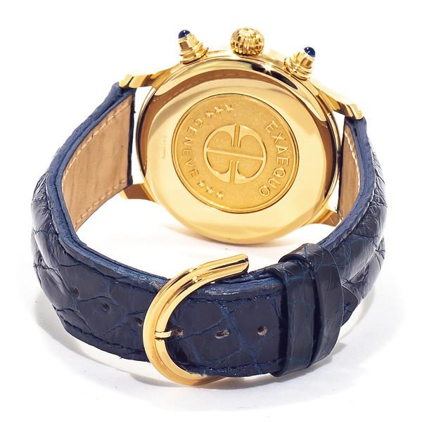 Reloj analógico piel mujer - azul