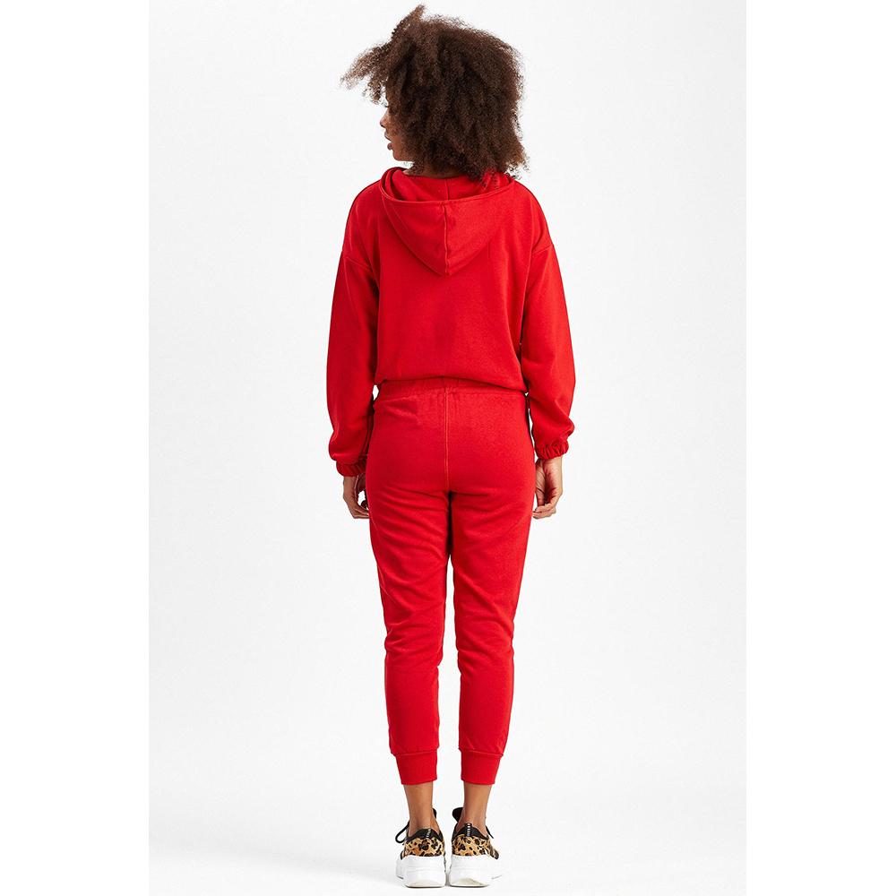 Pantalón chándal mujer - rojo