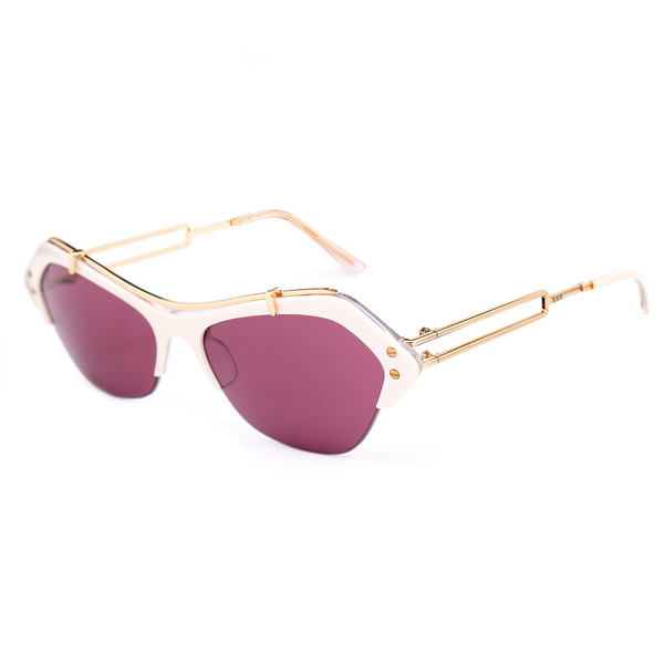 Gafas de sol mujer - blanco