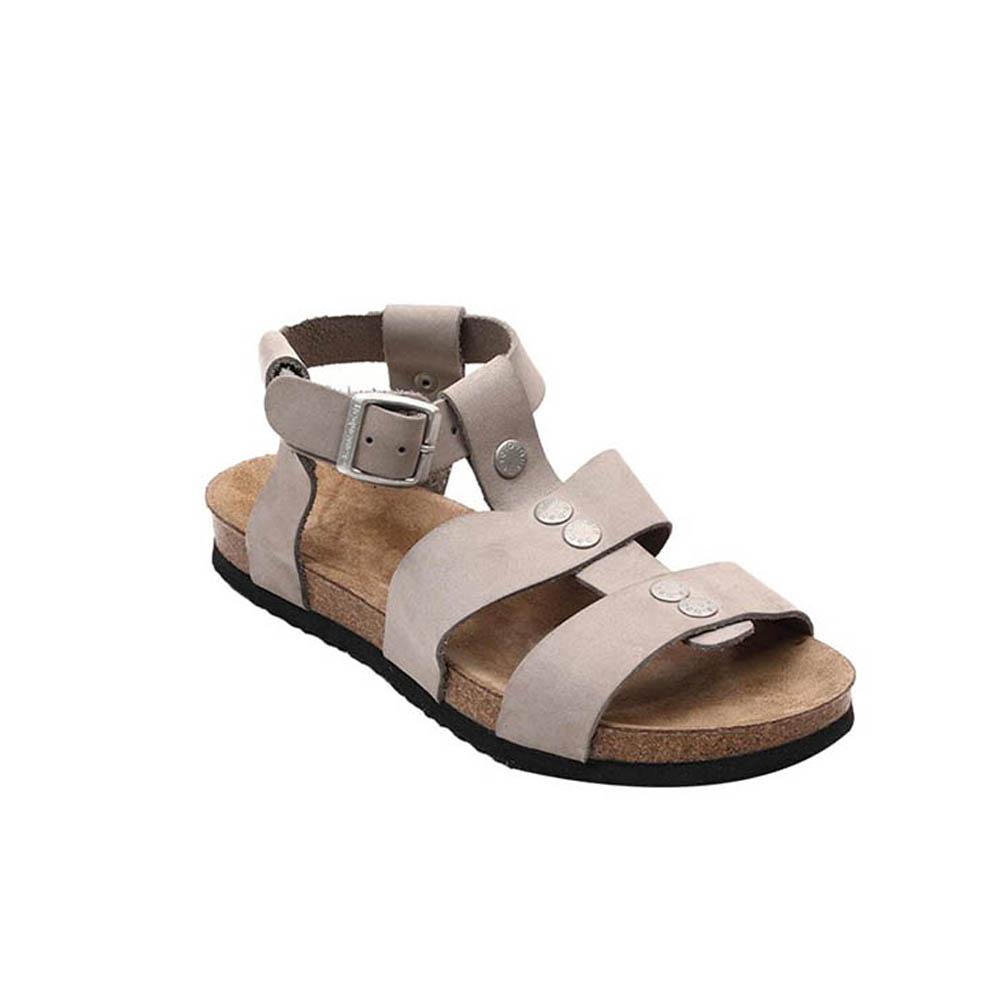 Sandalias Classic mujer piel - gris