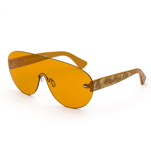 Gafas de sol mujer - naranja nácar