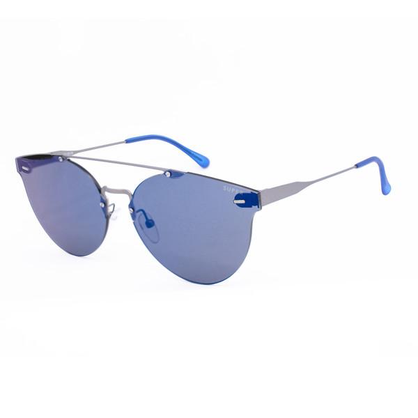 Gafas de sol unisex - gris mate/azul