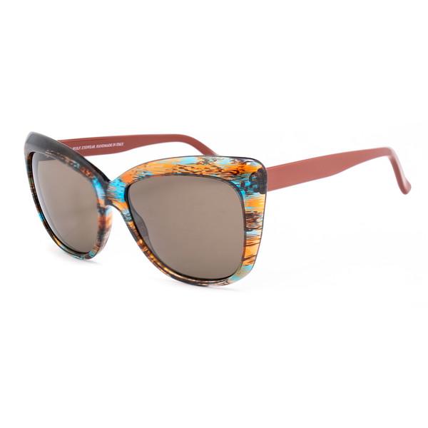 Gafas de sol mujer - marrón/azul