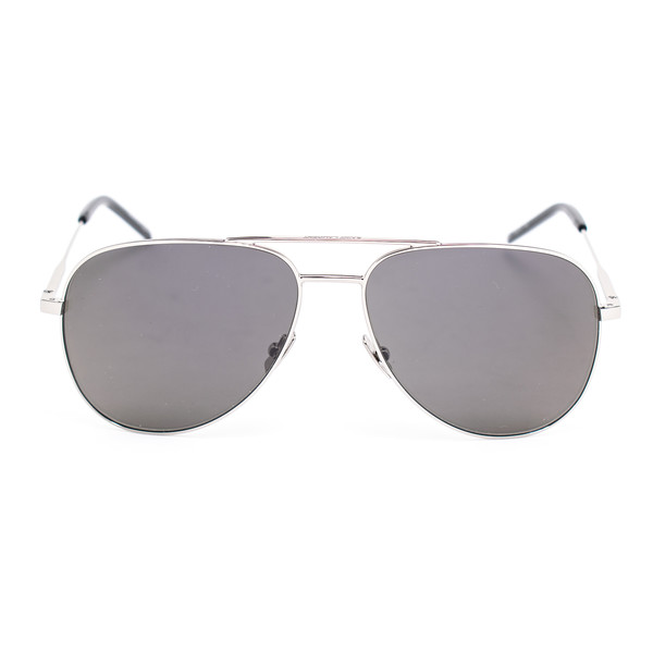 Gafas de sol metal unisex - plateado