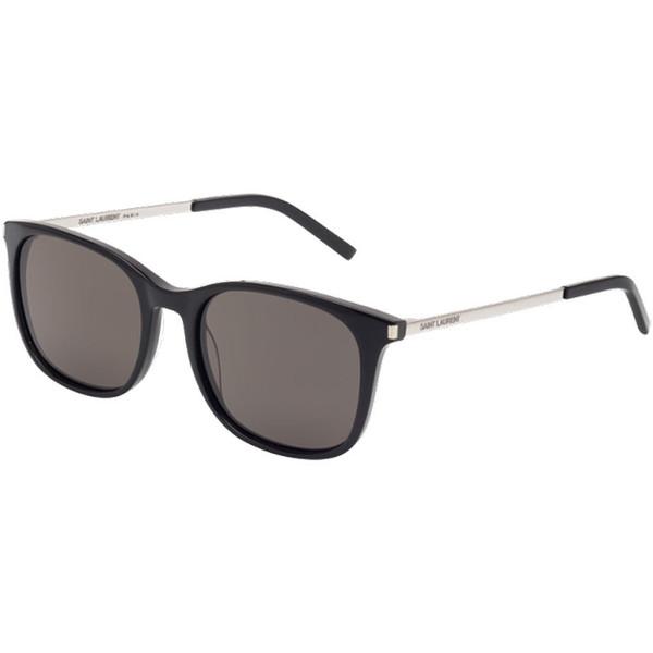 Gafas de sol unisex - negro/plateado
