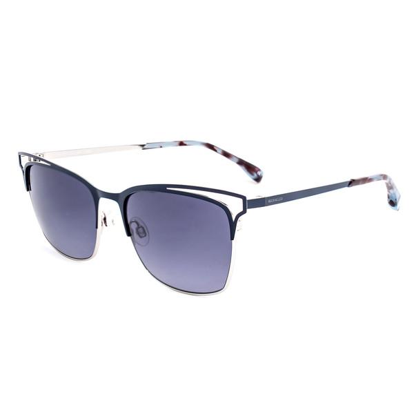 Gafas de sol metal mujer - azul/marrón