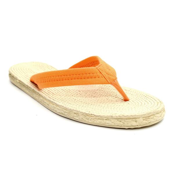 Naranja Flip Flop Sandalia Sandalia Mujer 8PXn0wOZNk