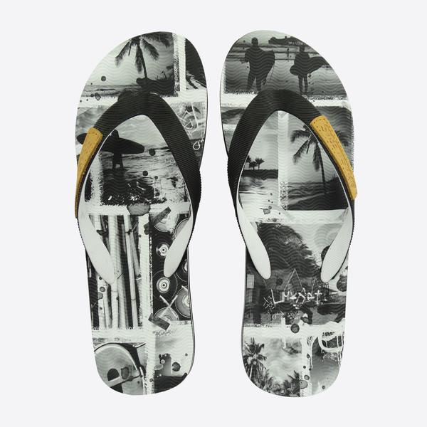 Chancla flip flop surf unisex - negro