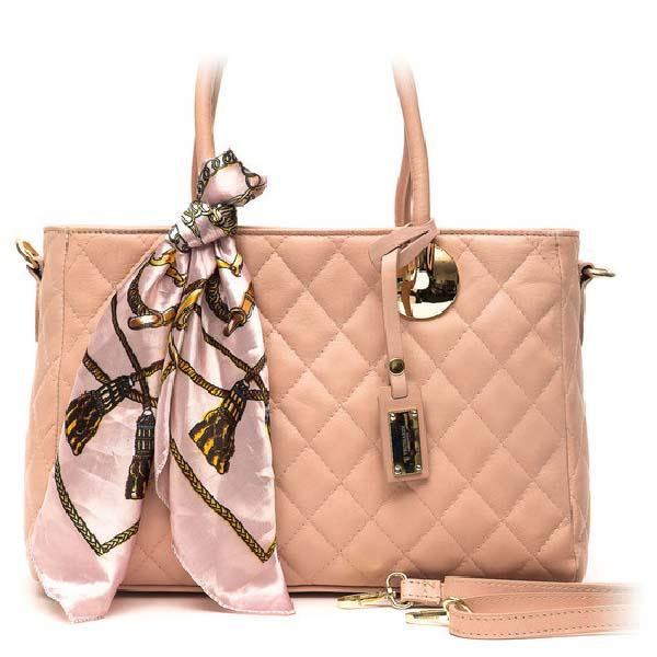 Bolso Handbag mujer piel - rosa