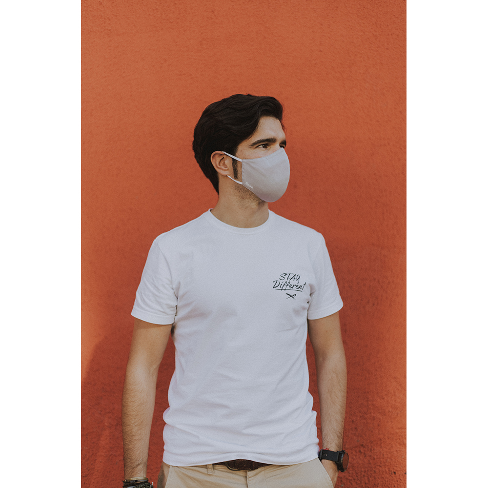 Mascarilla adulto - gris