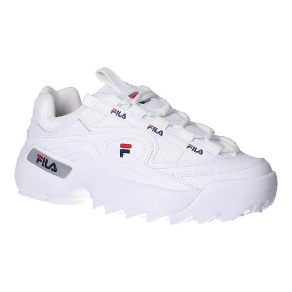 Sneaker mujer piel - multicolor