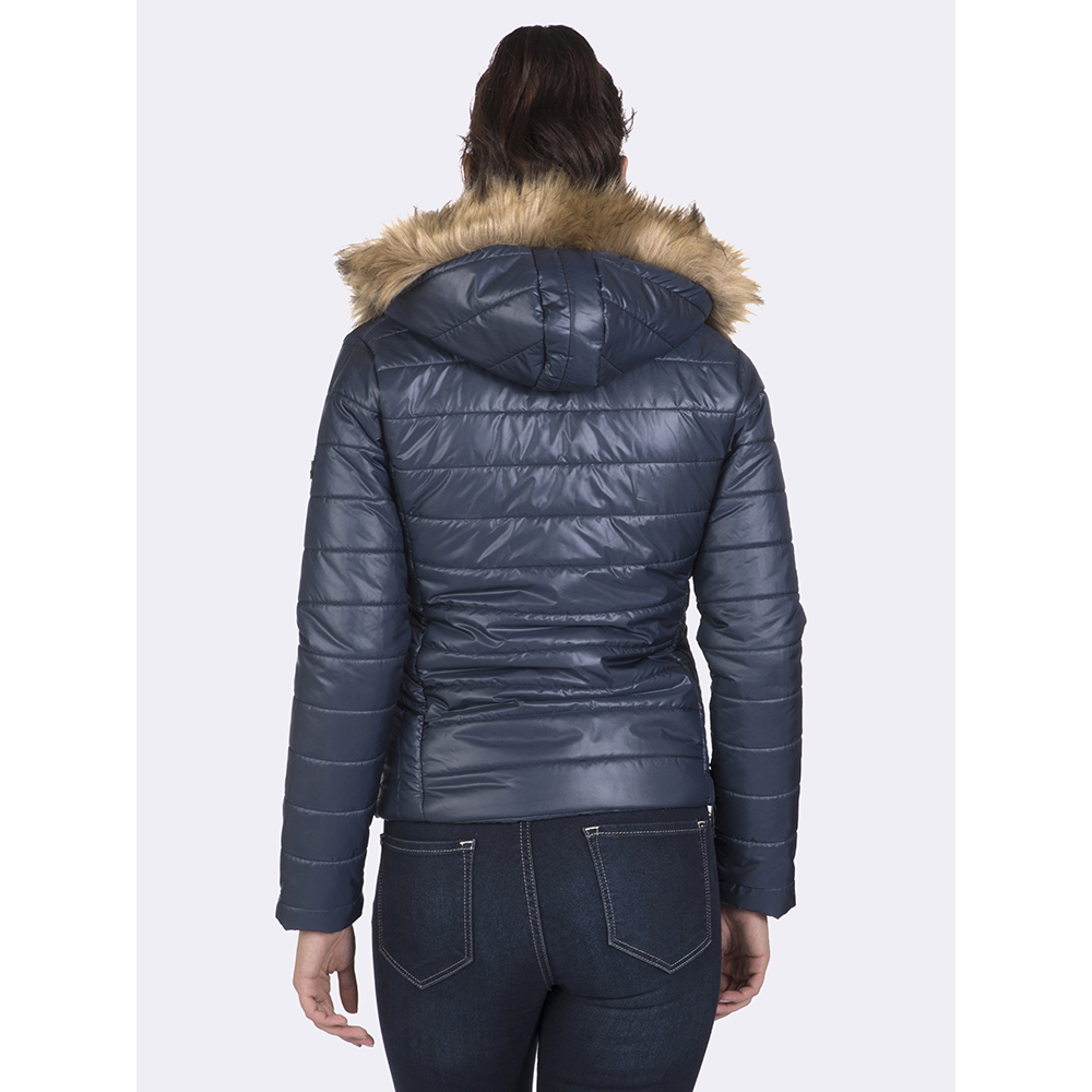 Abrigo mujer - azul