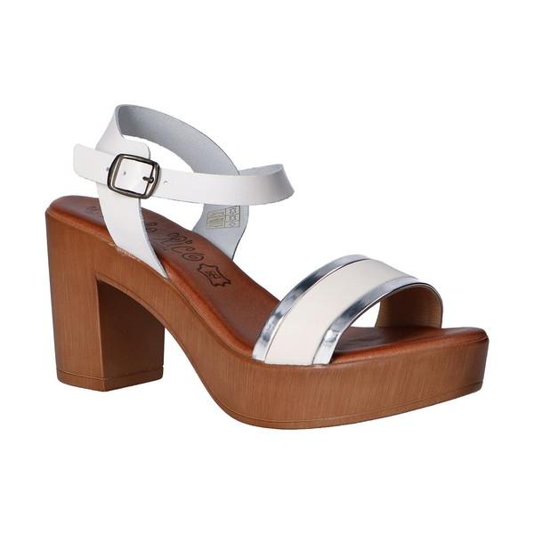 Sandalias de Mujer Blanco