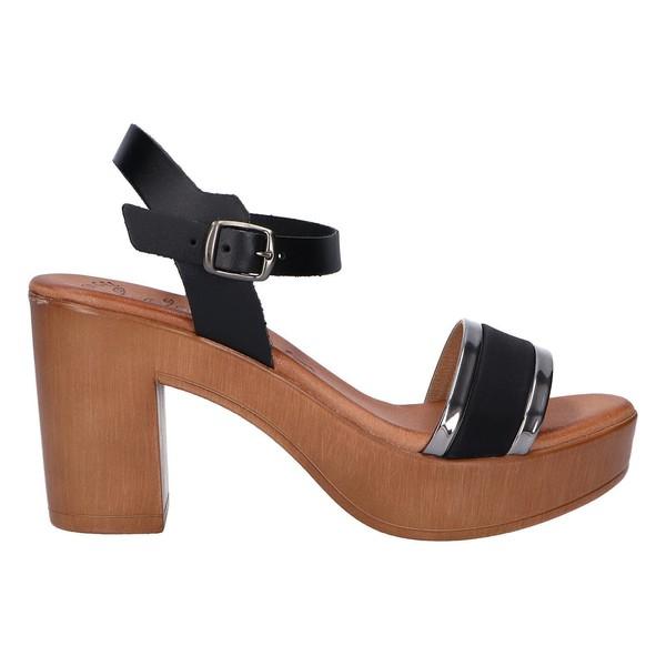 Sandalias de Mujer Negro