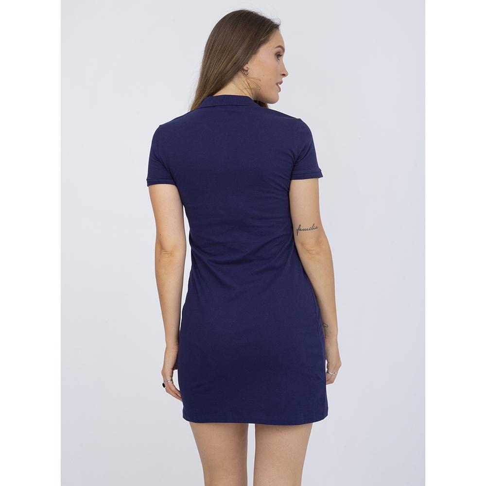 Vestido m/corta mujer - marino