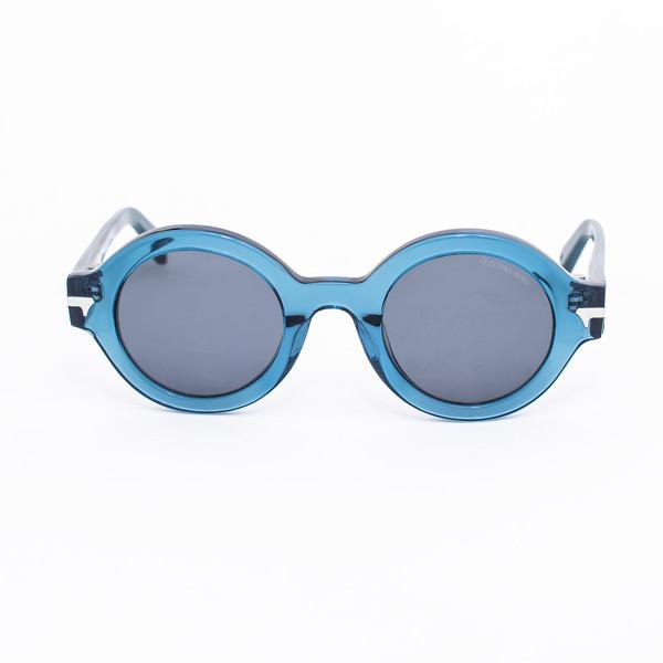 Gafas de sol unisex - azul transparente